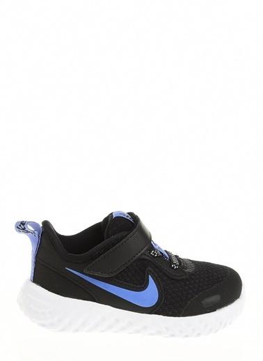 Nike Kız Bebek Siyah Spor Ayakkabı CD6841 - 041 NIKE REVOLUTION 5 GLITTER PSV Siyah